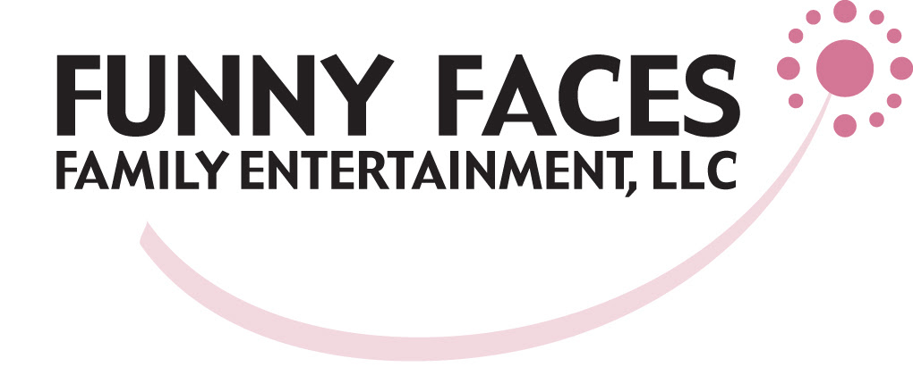 Funny Faces logo family and kid's entertainment