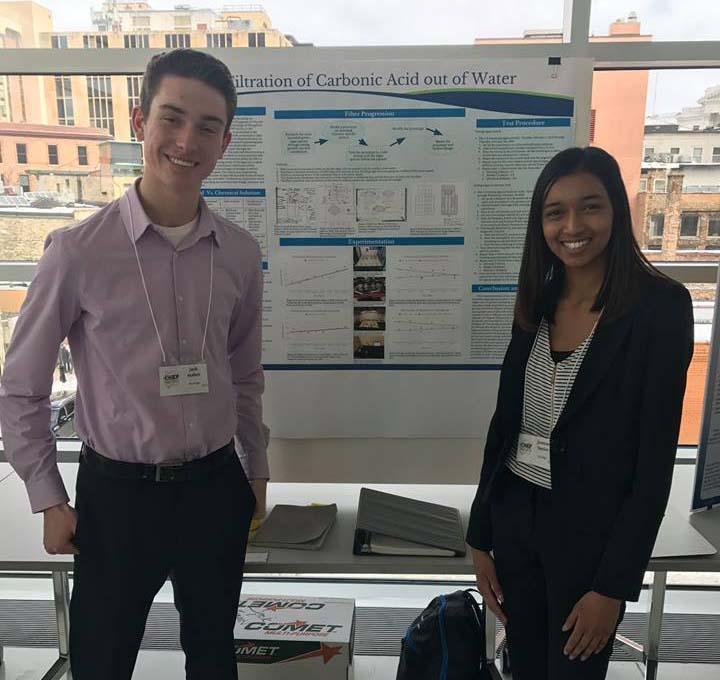 Promega Corporation - 1st Runner-Up: Jack Mahear & Jasmine Narine, Muskego
