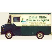 Lake Mills Cleaners logo