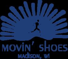 Movin' Shoes logo