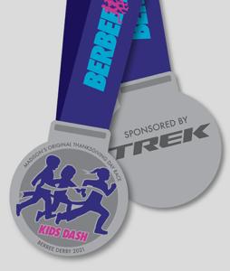 Kids Dash Berbee Derby medal